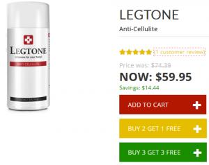 legtone anti-cellulite cream review